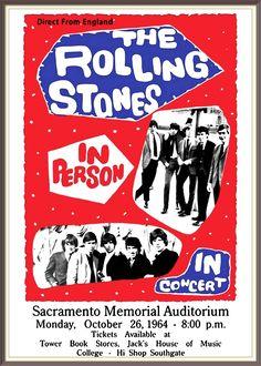 The Rolling Stones - Sacramento CA, 1964