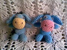 Baby eeyore free crochet pattern