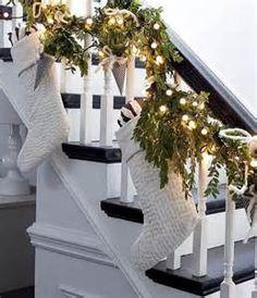 stockings stair rail - Bing images