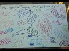 Free Jamie Snow - 2nd Annual Postcards in the Park - Message to Supporters