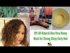 DIY Aloe Vera Mask to Moisturize Dry Hair