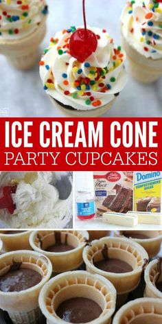 - Passion For Savings - Ice Cream Cone Cakes Recipe! We LOVE these Simple Ice Cream Cone Cakes! So simple to make and perfect for parties! My kids love these ice cream cone cupcakes and beg me to make them when we celebrate! Ice Cream Cone Cake, Cake In A Cone, Ice Cream Cupcakes, Ice Cream Theme, Ice Cream Desserts, Ice Cream Party, Icecream Cone Cupcakes, Cake Recipes, Dessert Recipes