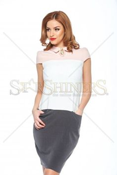 Fofy Essential Grey Dress