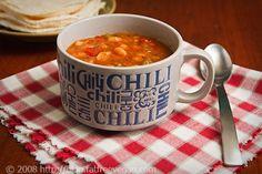 White Bean Chili | recipe from FatFree Vegan Kitchen