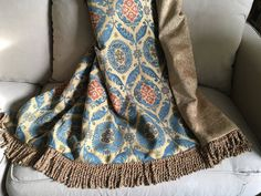 Turquoise Aqua Moroccan Throw, African Throw, Ethnic Rug, Luxurious Throws, MidEastern Medallions, Tapestry Wall Hanging, Sofa Throw