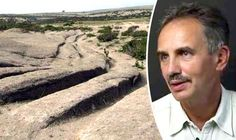 Dr Alexander Koltypin & tracks in Phrygian Valley - 'Non-humans drove GIANT CARS on Earth millions of years ago and tracks are STILL visible'