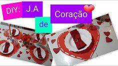 DIY: JOGO AMERICANO DE CORAÇÃO Para o dia dos Namorados #cretodososdias#7