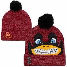 Iowa State Cyclones Ladies Knit Beanie Hat