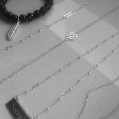 Lavocca Jewellery necklace chain silver bracelet gems jubile pendant simple delicate
