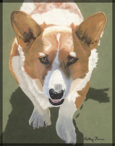 Kathy Juron, pastel paintings of dogs