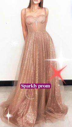 Sparkly Gown, Sparkly Prom Dresses, Prom Girl Dresses, Elegant Prom Dresses, Beautiful Prom Dresses, Homecoming Dresses, Pretty Dresses, Prom Dresses Under 50, Affordable Prom Dresses