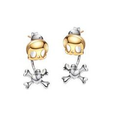 Buy 'BELEC – Halloween 14K Gold Plated 925 Sterling Silver Skeletons Earrings' with Free Shipping at YesStyle.com.au. Browse and shop for thousands of Asian fashion items from Japan and more!