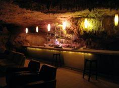 Alux underground restaurant and bar.