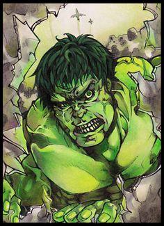 #Hulk #Fan #Art. (Hulk) By: XMenouX. ÅWESOMENESS!!!™ ÅÅÅ+