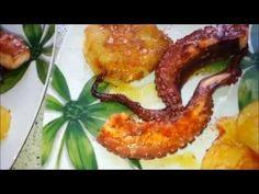 pulpo gallego estilo gourmet - YouTube