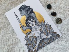 """ashley   artist   commissions open! ☽ on Twitter: """"jude & cardan from the cruel prince series by @hollyblack ⚔️… """""""