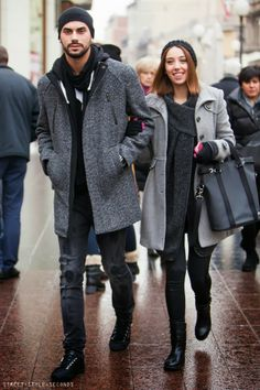STYLISH COUPLES AND CHRISTMAS FEELING - ON THE STREETS OF ZAGREB |STREET STYLE SECONDS