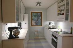 Keittiö, hell no! Office Desk, Corner Desk, Lily, Furniture, Home Decor, Corner Table, Desk Office, Decoration Home, Desk