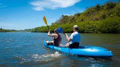 Estuary Kayaking at Playa Las Tortugas