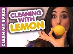She Sprinkles Salt On A Lemon To Put Into Toilet, And It's Genius...and many other cleaning uses for lemon!