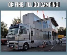OK, So I got a new camper. Yes its big and not vintage, but its allright, 'cause it has a garage in it that can hold my 59 Shasta! Bus Camper, Kombi Motorhome, Cool Campers, Rv Campers, Camper Trailers, Horse Trailers, Vintage Trailers, House On Wheels, Go Camping