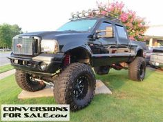 2007 Ford F250 Super Duty Crew Diesel Lifted Truck
