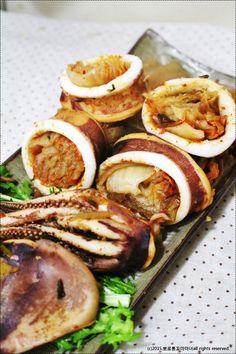 [오징어김치찜] 모양내본 오징어 김치찜 - Daum 요리