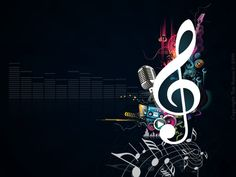 Graphics Musical Notes Vector Wallpapers