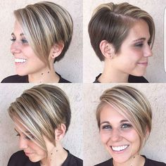 @hairsbylola this cut on @ambergarb is just so great.  hands for you