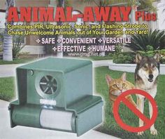 odstraszacz psów kun kotów szczurów łasic królików wiewiórek