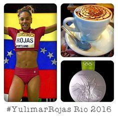 Celebremos al máximo el triunfo de #YulimarRojas  con el mejor café  en #AromaDiCaffé Conócenos en el C.C. Metrocenter pasaje colonial. #AromaDiCaffé  #MomentosAroma #SaboresAroma #Olimpíadas2016 #Rio2016 #Venezuela #YulimarRojas #Coffee #CoffeeLovers #CoffeeMoments