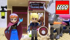 Princess Anna stop by Wandering Oaken's Trading Post for winter supplies and Kristoff feed some carrots to Sven the reindeer. LEGO recently released new Disn. Disney Princess Frozen, Princess Anna, Lego Duplo Sets, Anna Kristoff, Enchanted Castle, Frozen Sisters, Lego Toys, Trading Post, Stop Motion