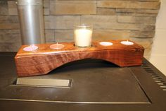 Advent candle holder by DVWOODWORKING on Etsy