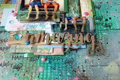 Scrapbooking by Nastya M: А где вы любите отдыхать?/ Vacation Time)