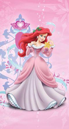 Ariel com roupa de natal