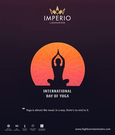 """Yoga is almost like music in a way; Happy Yoga Day, World Yoga Day, Happy International Yoga Day, Navratri Wishes, Minimalist Music, Krishna Hindu, Festival Flyer, Framed Wallpaper, Creative Posters"