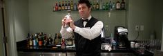 Bartender working at The Smith Center for the Performing Arts