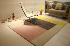 That Hay rug again. Harmony in skin colours. http://www.cimmermann.co.uk/product/hay_pinocchio_rug_multicolored/