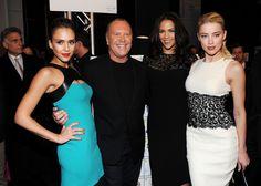 Paula Patton, Jessica Alba, Michael Kors, Amber Heard