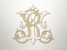 Etsy :: Your place to buy and sell all things handmade Monogram Design, Monogram Logo, Monogram Initials, Lettering Design, Quilling Patterns, Vintage Monogram, Business Logo Design, Arte Floral, Tattoo Blog
