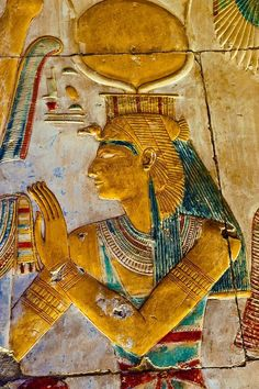 Las Aguas del Nilo — awesomepharoah: Wall Reliefs at the Temple of...