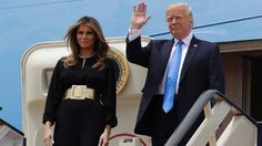 First lady Melania Trump stepped off Air Force One at King Khalid International Airport Saturday morning without a head scarf -- following the example of her predecessor, Michelle Obama -- and potentially creating a stir in this conservative Islamic country. Women here, including visitors and...