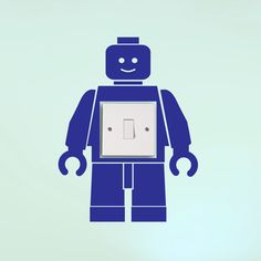 Lego+Man+Light+Switch+Surround+Wall+Sticker+Decal+Transfer+Vinyl+Decoration