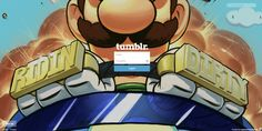 The Internet Reacts To Luigi's Death Stare