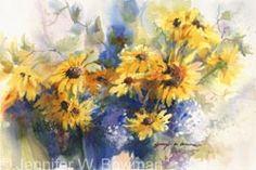 Yellow Daisies by Jennifer Bowman
