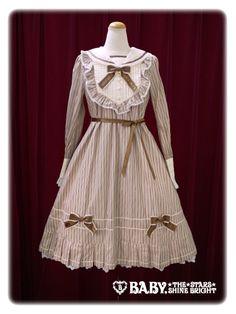 Baby, the stars shine bright Coppelia 's sailor collar one piece dress