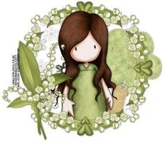 Did this for my little sister who has taken a liking to green :)
