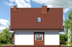 Dom w sasankach Garage Doors, Outdoor Decor, Model, House, Home Decor, Brick Homes, Decoration Home, Home