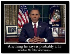 """In LIES We Can Trust! Barack Obama delivered his SIXTH State of the Union address on January 20, 2015. The good news is that the entire hour of Obama's latest """"State of the Union"""" message can be summed up in just four words: Bigger Government Bigger Spending - see more here: http://asheepnomore.net/2015/01/23/lies-can-trust/"""