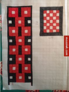 ontwerp Moroccan backsplash : jaren 30 vloer entree en toilet Annelies heeft het patroon voor de ...